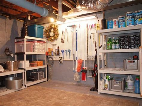 unfinished basement storage solutions 17 best ideas about unfinished basement storage on