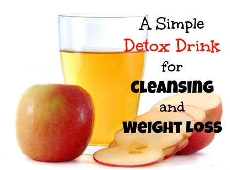 Easy Detox Drinks To Lose Weight by Detox Drink For Cleansing And Weight Loss Recipe Just A