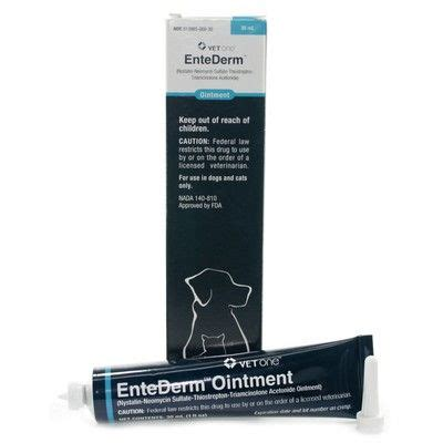 entederm ointment dogs entederm skin and ear infections in pets vetrxdirect