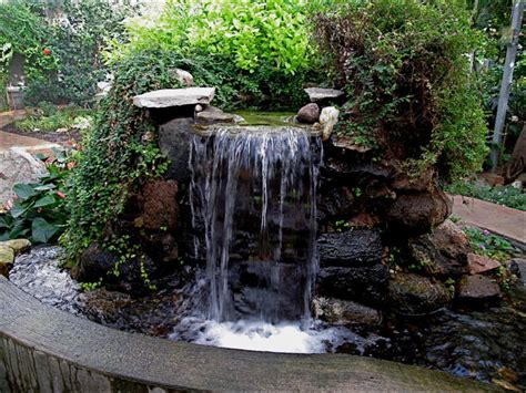 diy garden waterfalls water features garden waterfall