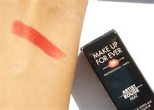 Makeup Forever Mat 1 Lipstick by Make Up For Artist Mat Lipstick M401 Review