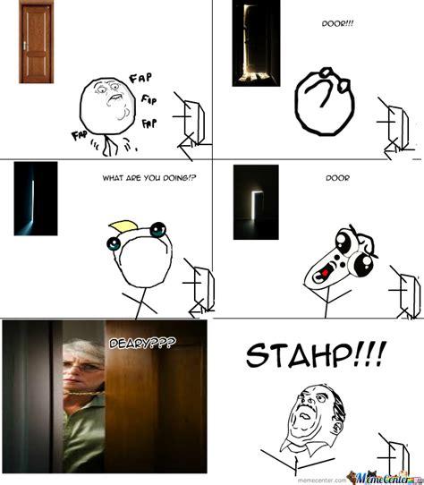 Door Meme - door stahp by doggydog77 meme center