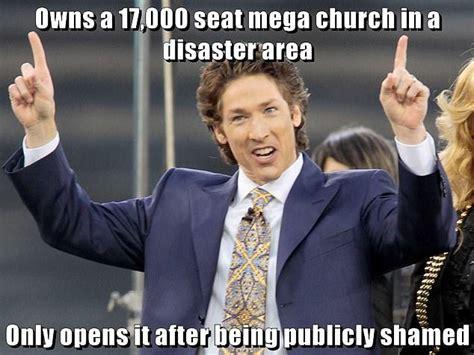 Joel Osteen Memes - houston preacher joel osteen lambasted in twitter memes