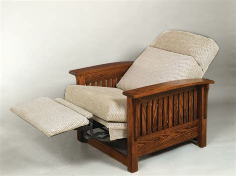 Mission Oak Sofa 85 Mission Recliner Dutch Haus Custom Furniture