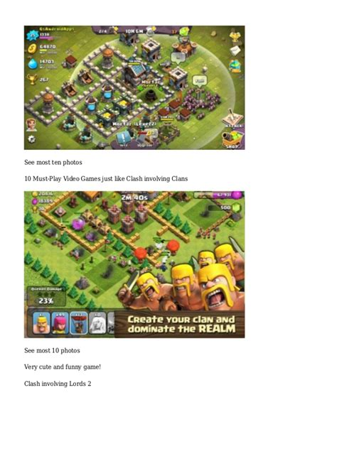 like clash of clans 9 must play like clash of clans