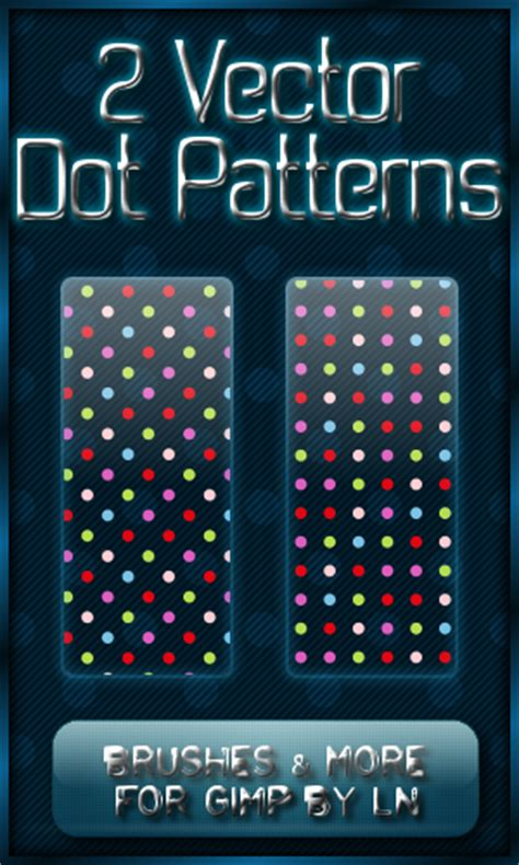 dot pattern gimp 2 gimp dot vector patterns by el l en on deviantart