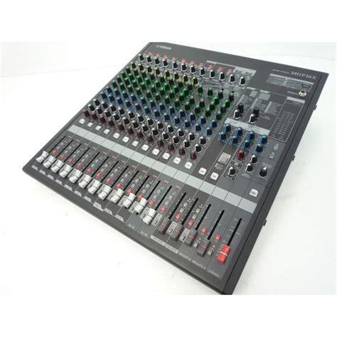 Mixer Yamaha Mgp 16 Channel yamaha mgp16x 16 channel mixing console analogue mixer