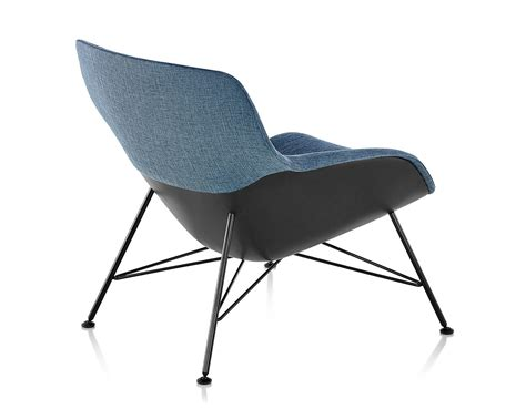 striad   lounge chair  wire base hivemoderncom