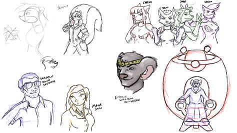 doodle character character design doodle weasyl
