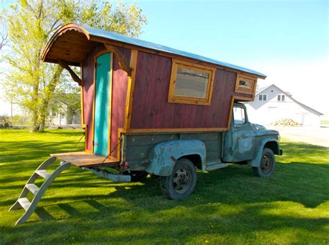 17 best images about rv wagon tiny home floor plans on pinterest cers wheels for sale a hand built cer mounted to a 1960 4 215 4 dodge power