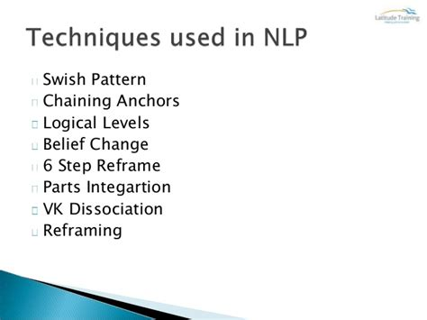 nlp swish pattern video nlp hypnosis 2014