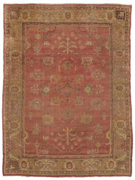 turkish area rugs antique turkish oushak area rug with modern design for sale at 1stdibs