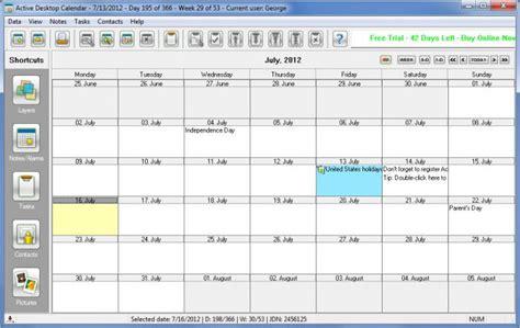 Active Desktop Calendar Xemicomputers Active Desktop Calendar V7 94 Keygen