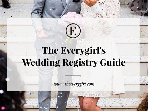 Wedding Registry Guide the everygirl s wedding registry guide the everygirl