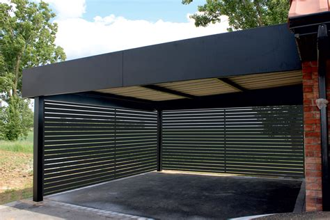 Alu Carport by Carport Aluminium Portails
