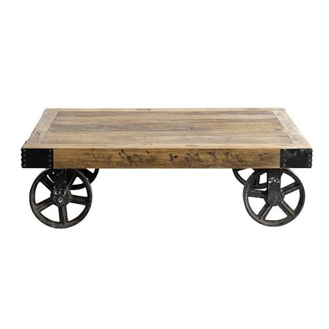 coffee table with caster wheels coffee table on casters move it anytime homesfeed