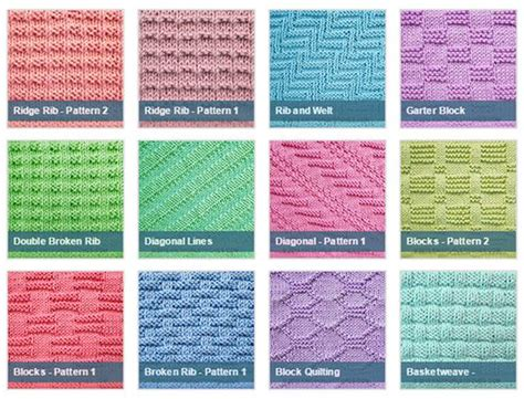 different knitting styles knit purl stitches knitting stitches