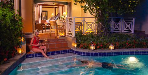 sandals resorts with swim up rooms sandals grande st lucian resort in lucia sandals
