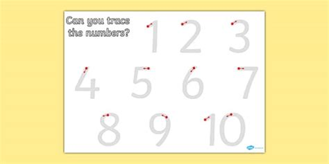 printable numbers early years number formation 1 10 worksheet worksheets numbers