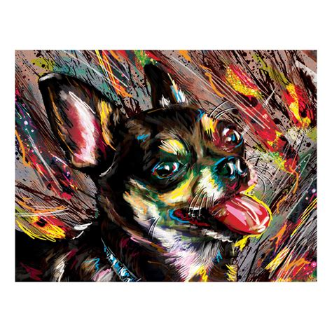 wag the wag the tongue painting print wrapped canvas 18 quot w x 12 quot h x 1 5 quot d rabbass