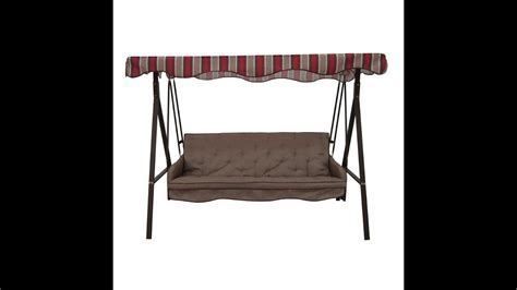 swing canopy replacement fabric garden treasures patio swing cushions seat support and