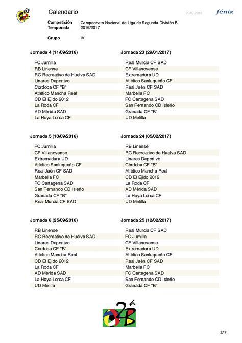 Calendario 3 Division La Rfef Ha Dado A Conocer El Calendario De La Segunda