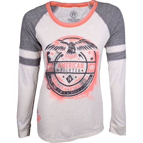 T Shirt Raglan American Fighter by American Fighter Grand Artisan Longsleeve Raglan