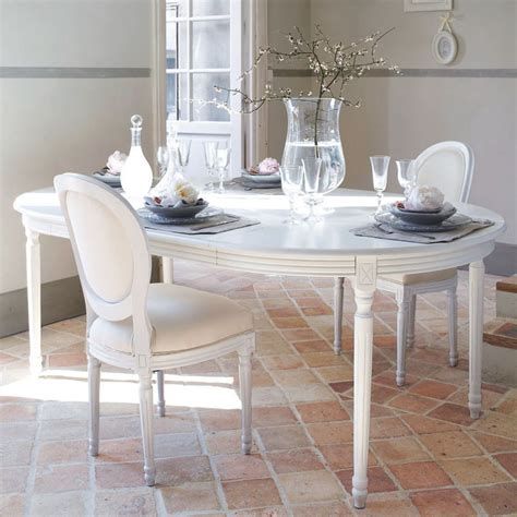 Table Ronde Extensible Blanche by Table 224 Manger Ronde Extensible Blanche 4 224 8 Personnes