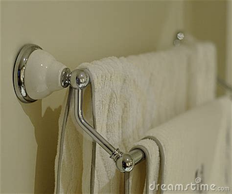 bath towel rack royalty free stock photography image 225857