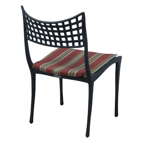 Brown Patio Chairs Brown Used Black Metal Outdoor Chair Stripe National Office Interiors And Liquidators