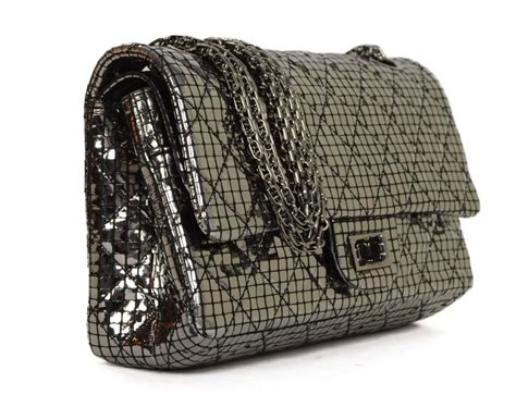 Tas Chanel Jumbo Resissue Black Rhw chanel silver mirror 2 55 re issue flap bag rhw for sale at 1stdibs