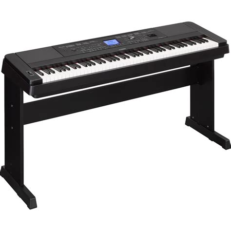 Stand Keyboard 1 yamaha dgx660 digital piano with stand black at