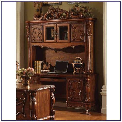 antique black desk with hutch desk home design ideas