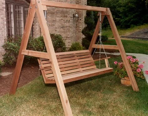how to build a freestanding porch swing how to build a porch swing stand home design ideas