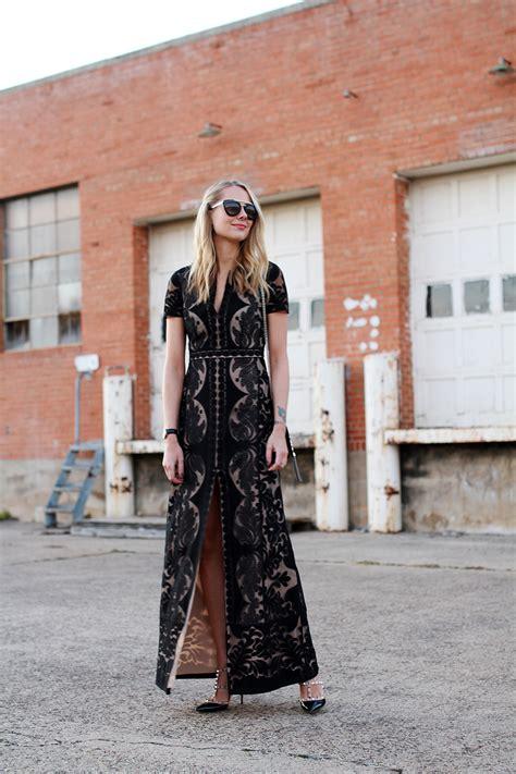 design dress prada lace fashion jackson bcbgmaxazria cailean lace dress black