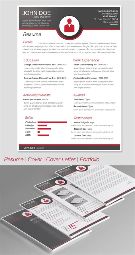 modern resume template 2014 modern resume template by codegrape on deviantart