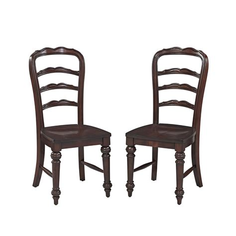 colonial dining chairs home styles colonial classic dining chair pair home