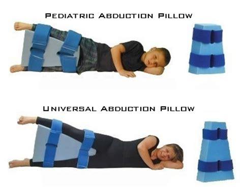 hip abduction pillow after hip surgery abduction pillows pmi