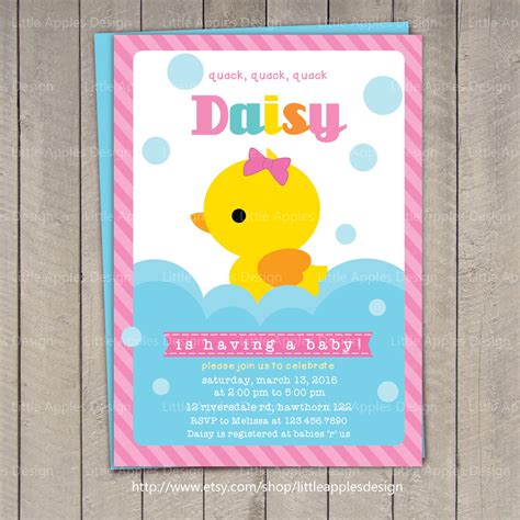 duck baby shower duck baby shower invitation rubber duck baby shower