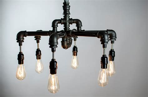 Diy Bedroom Chandelier 25 Cool Diy Metal Pipe Projects For Your Home