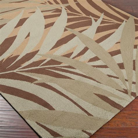 palm leaf rug palm leaves indoor outdoor rug