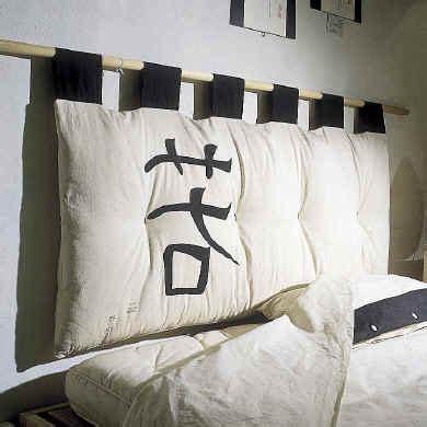 hanging pillow headboard futon bed head