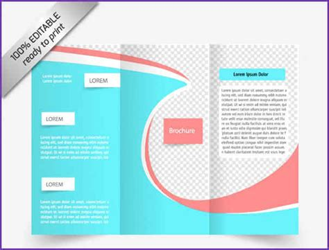 free tri fold brochure templates jobproposalideas