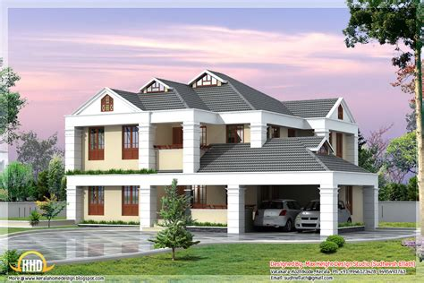 Home Design by 3 Beautiful Home Elevations Home Design