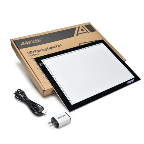 light board for tracing led artcraft tracing light pad box artist drawing