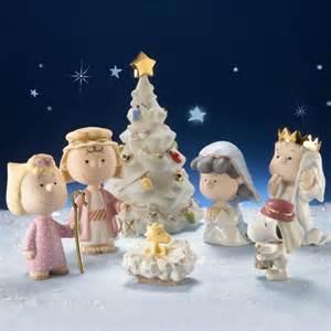 charlie brown manger scene set holiday pretties pinterest