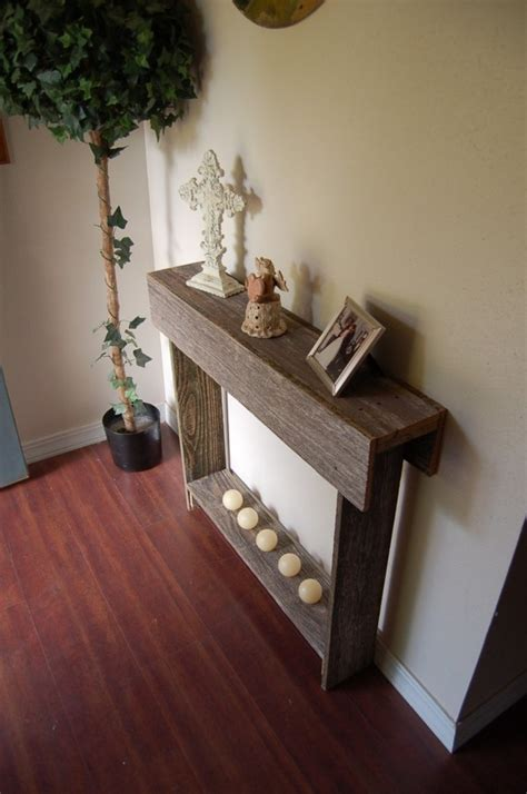 Entrance Wall Table Thin Console Table Wedding Gift Entry Way Table Small