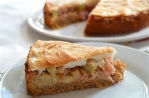 rabarber kuchen vollwertiger rhabarberkuchen mit honigbaiser