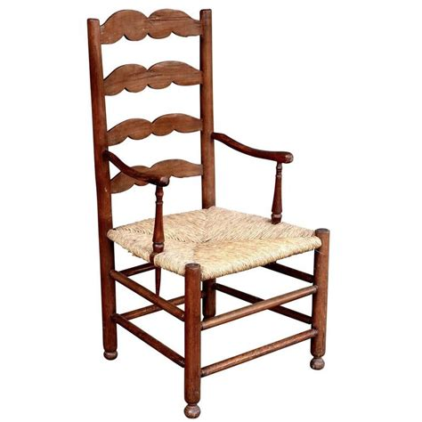 french provincial armchair 19th century french provincial ladder back armchair for