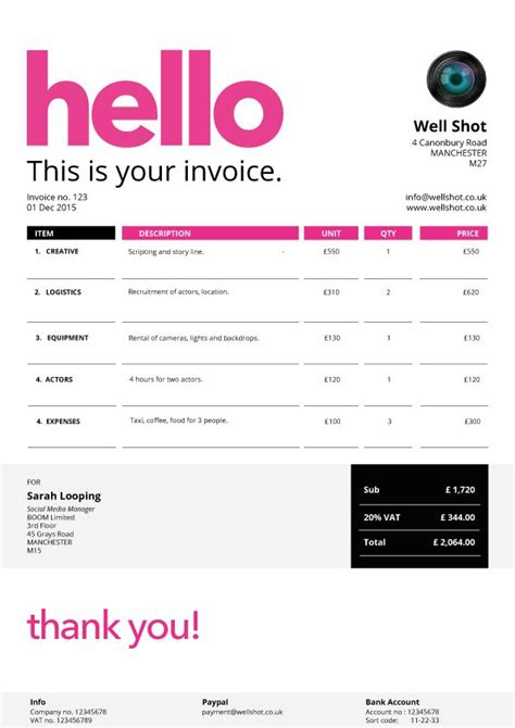 design invoice app 27 best images about creative invoice templates for